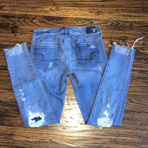 American Eagle Outfitters Jeans - American Eagle Outfitters Ripped Jeans Size 2